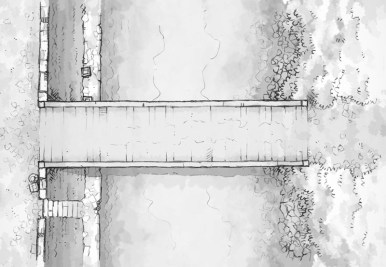 East Bridge (b&w)