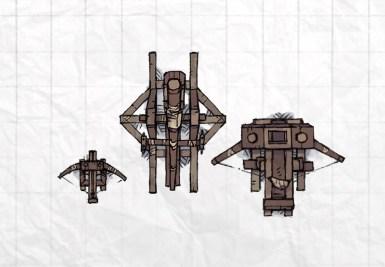 Castle Siege Weapons (scorpion, ballista, trebuchet)