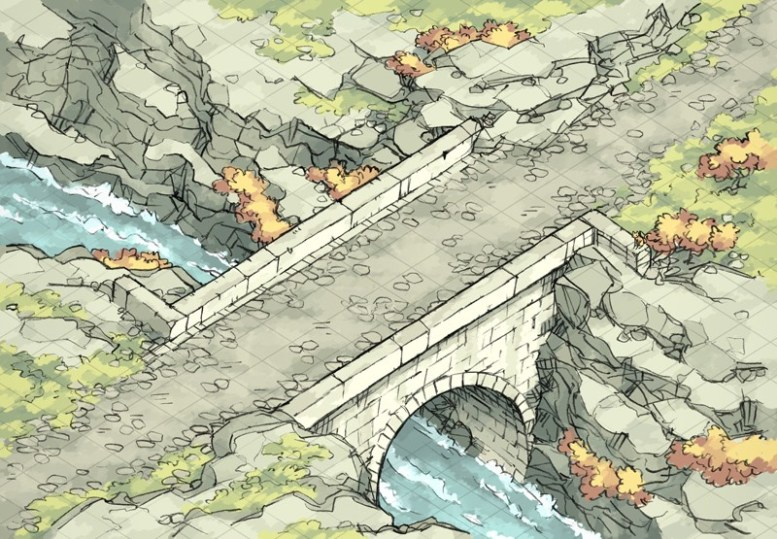 Isometric Bridge (color)