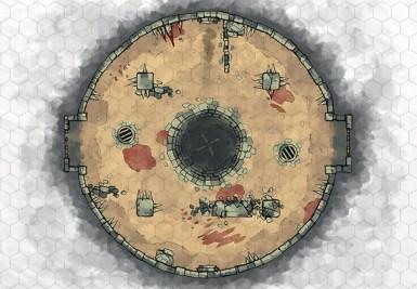 Greybanner Arena (hex grid)