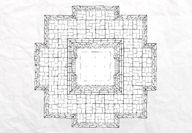 Dungeon Fighting Pit (lines)