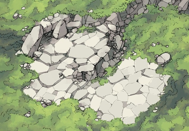 Hillside Cave (color)