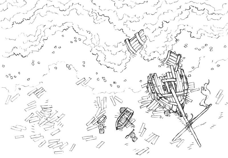 Shipwreck (lines)