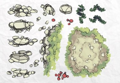 Roadside Forest Tokens Page 2