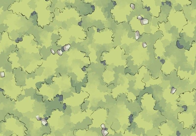 Roadside Tiling Grass
