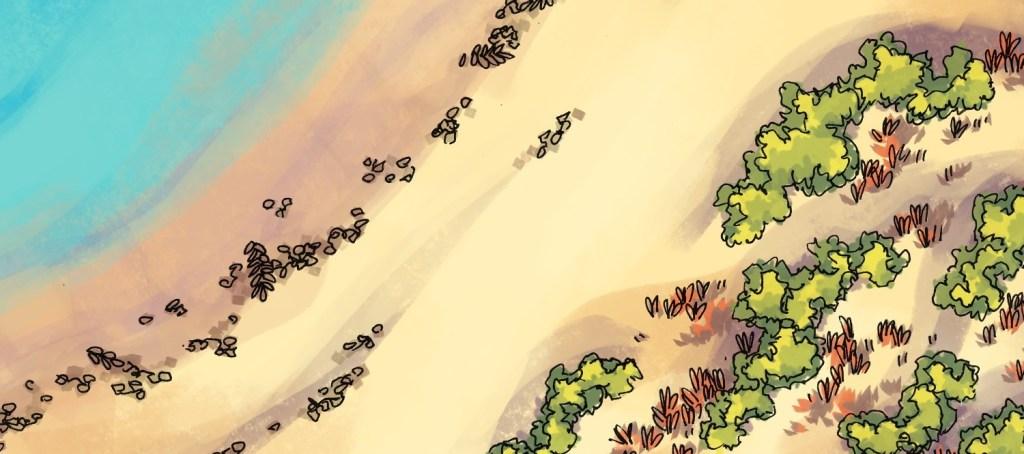 Beach Dunes Battle Map, banner