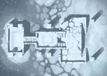 Snowy Sanctum, color