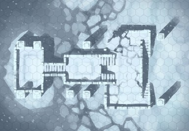 Snowy Sanctum, hex grid