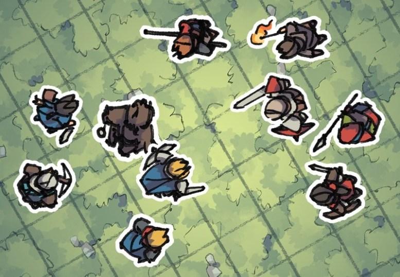 Hero Tokens, Battlefield Preview