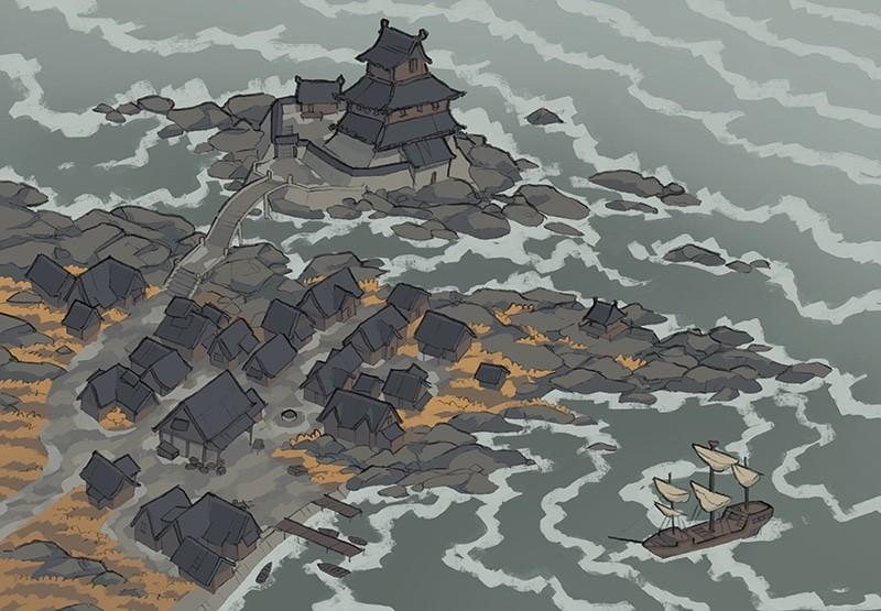 Castle Town city map