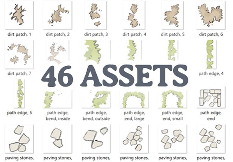 Grass & Road Assets, Assets