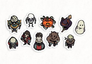 Halloween Monster RPG Tokens – Gallery Preview