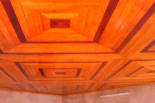 Plafond en Lambris Bois