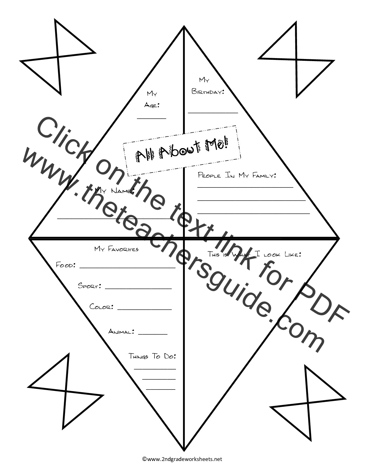 Free Back To School Worksheets And Printouts
