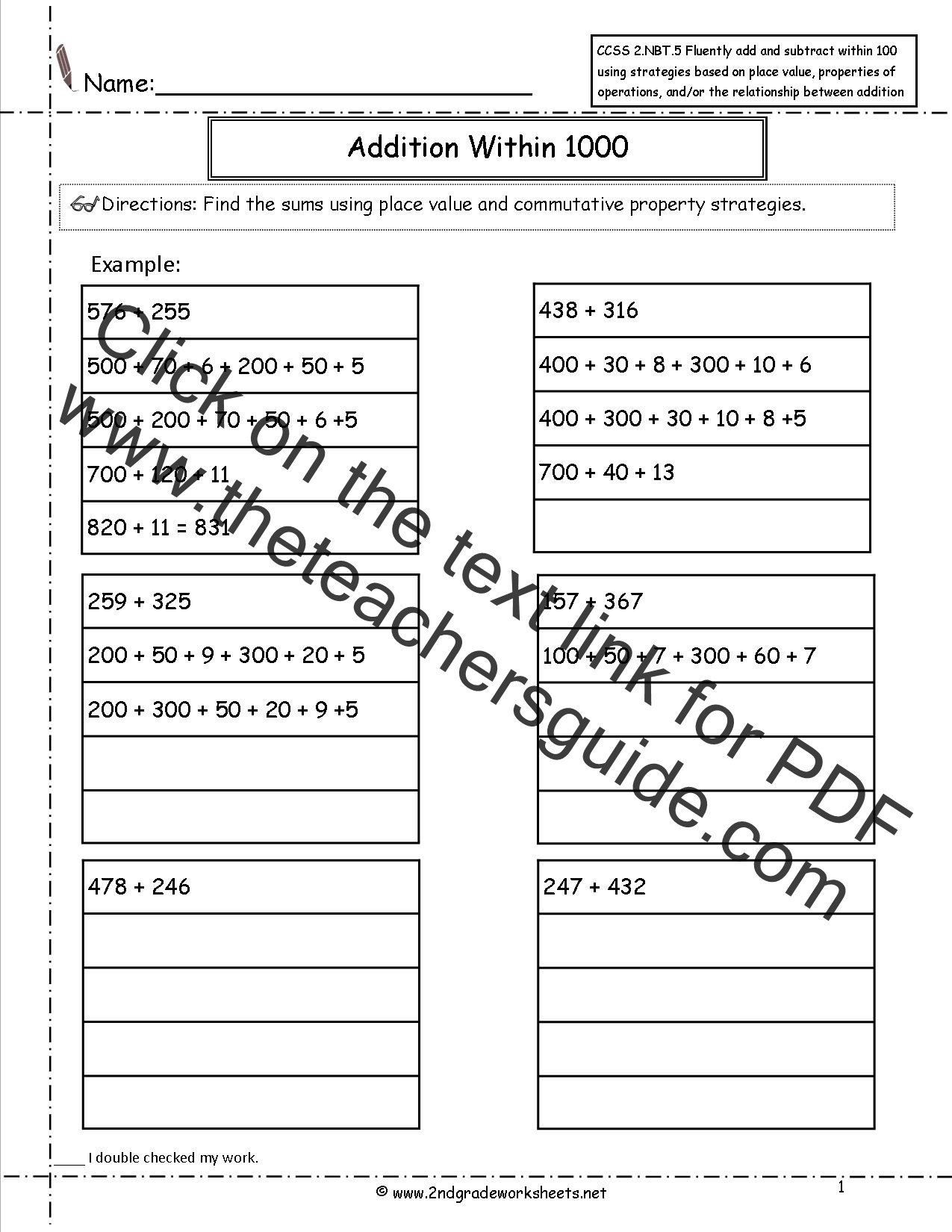 Infer Worksheet Common Core