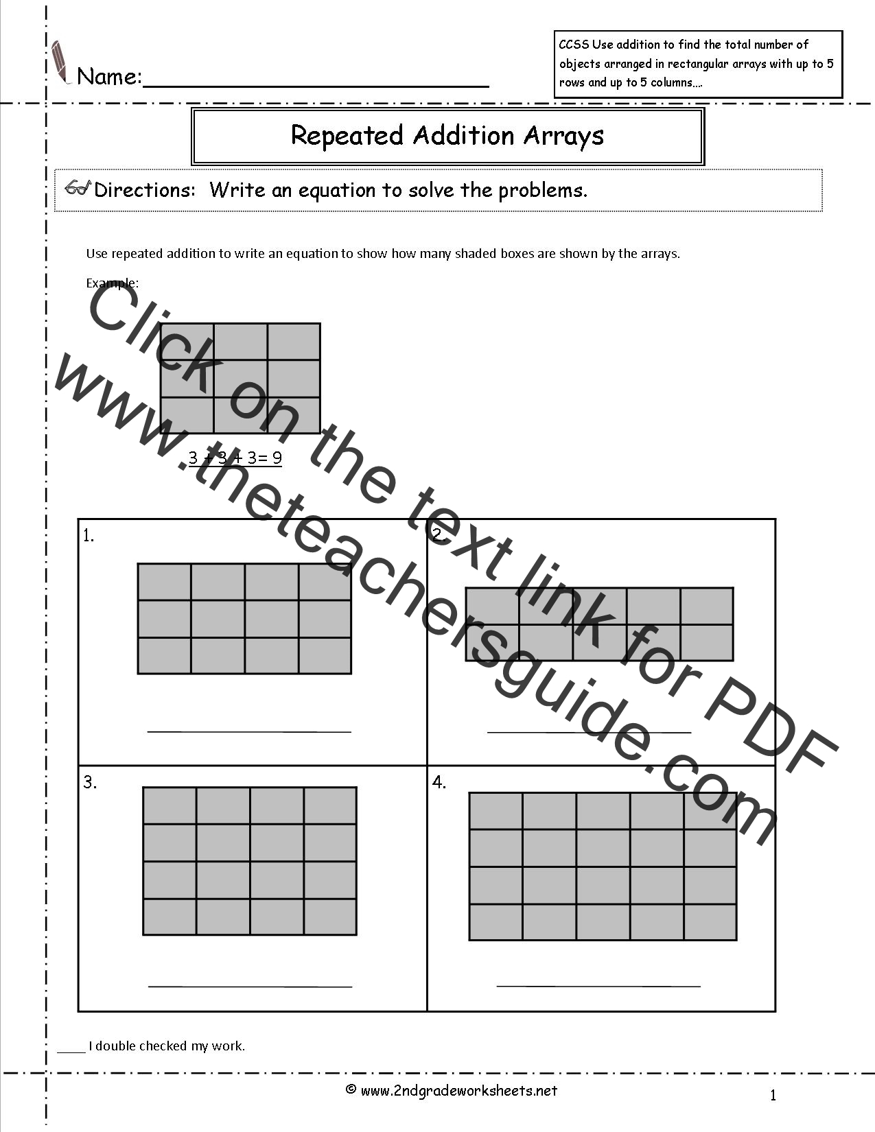 Carson Dellosa Tracing Worksheet