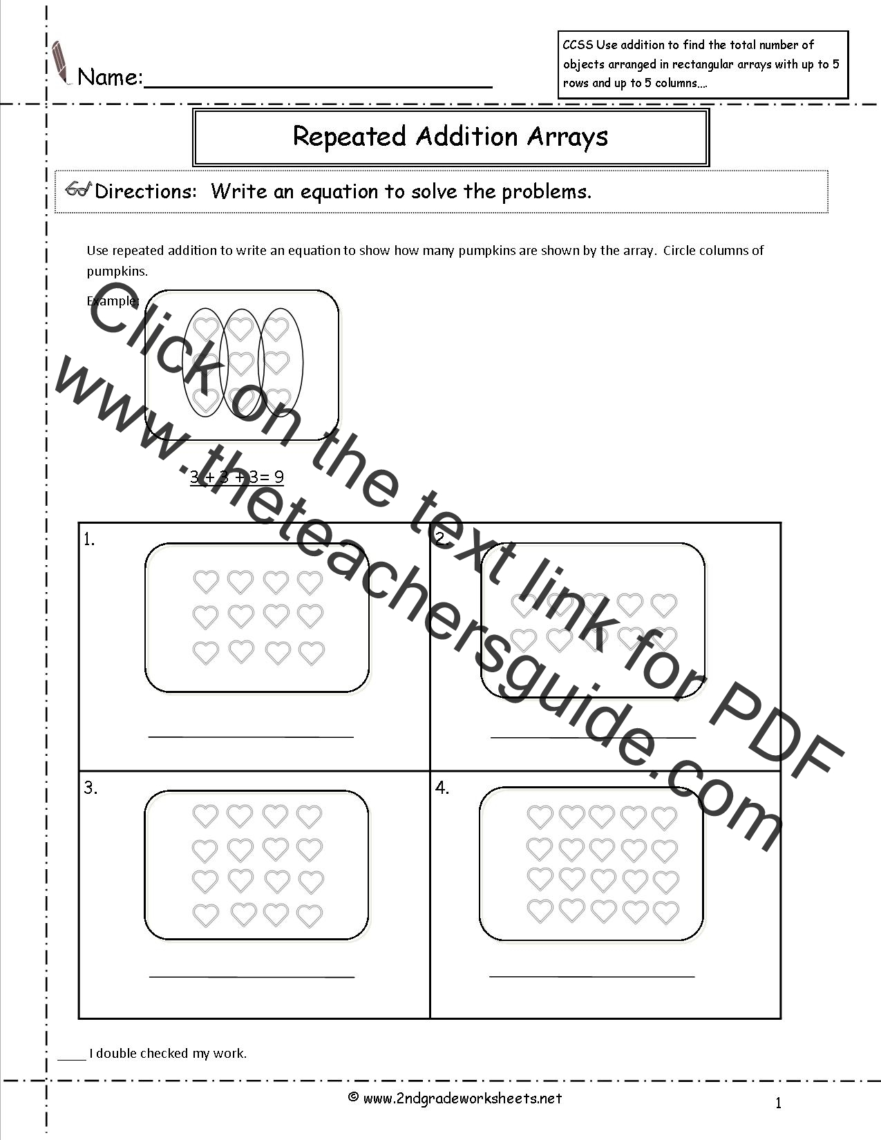 Common Core 4 Oa 3 Worksheet