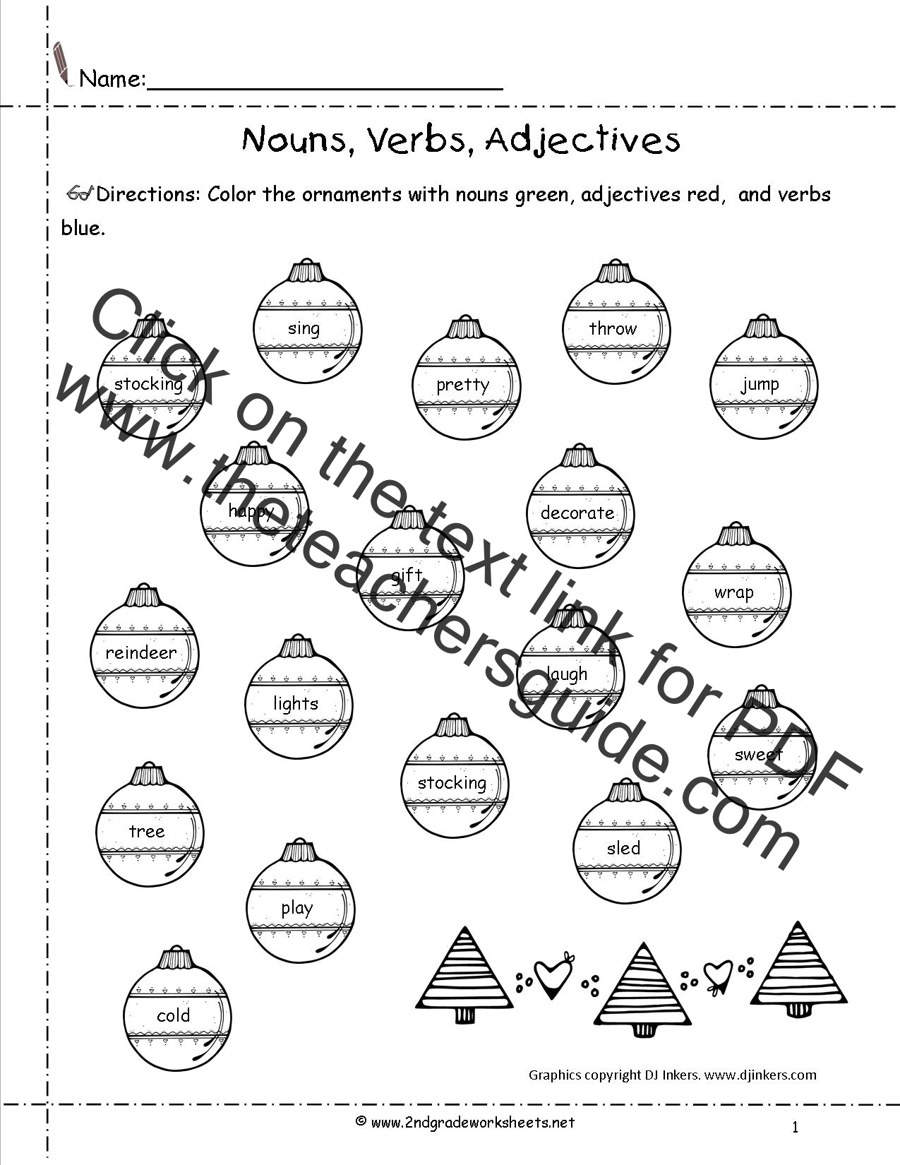 Christmas Kids Worksheet