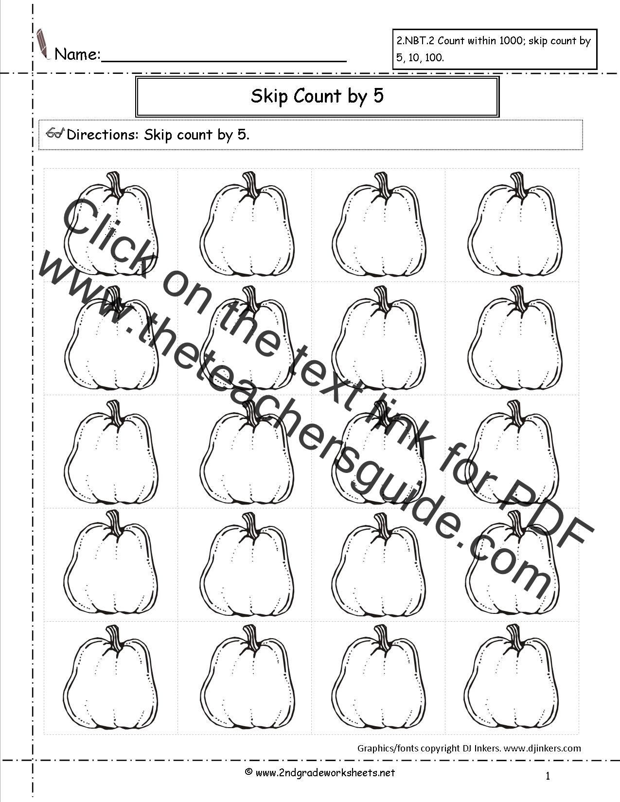 Halloween Math Worksheet Grade 10