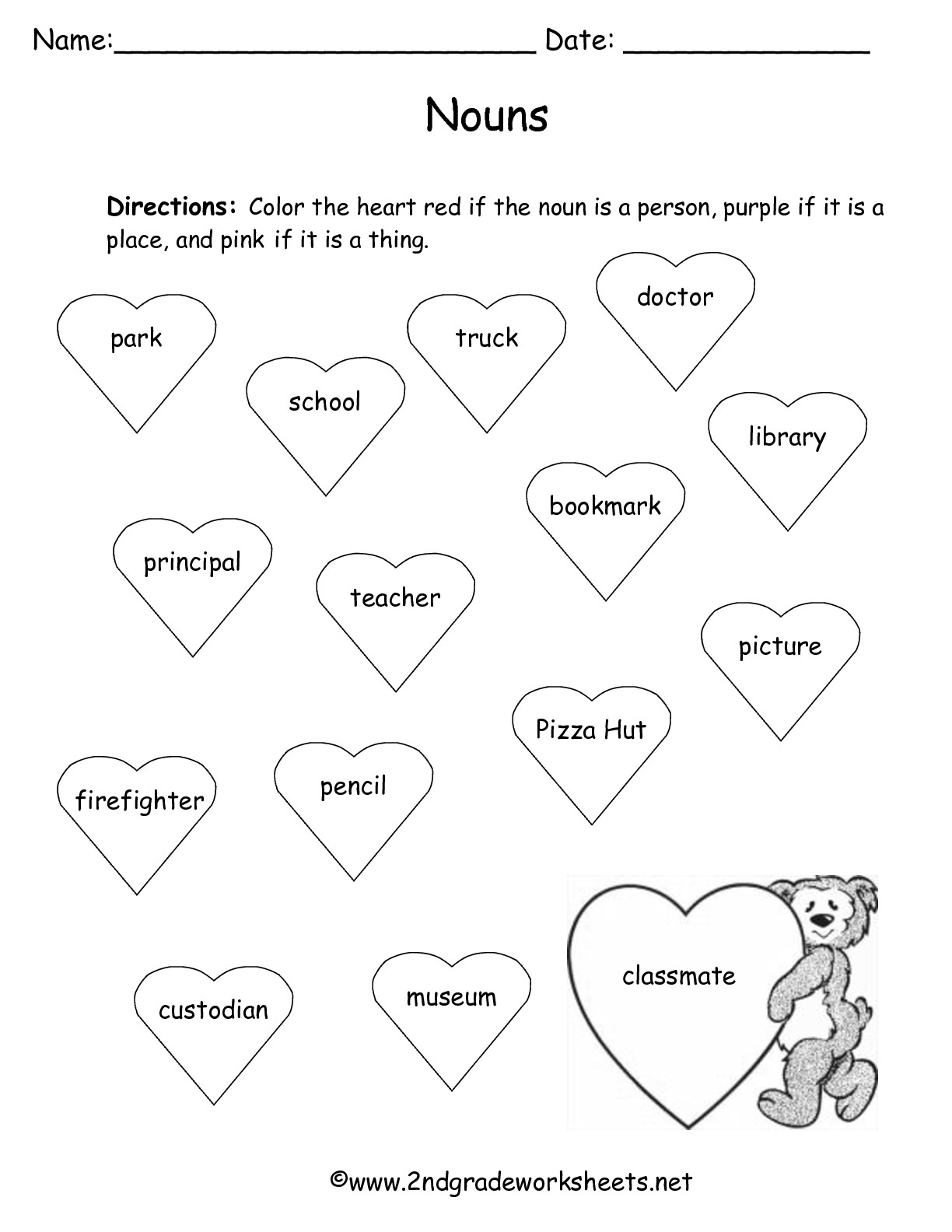 Valentine S Day Printouts And Worksheets