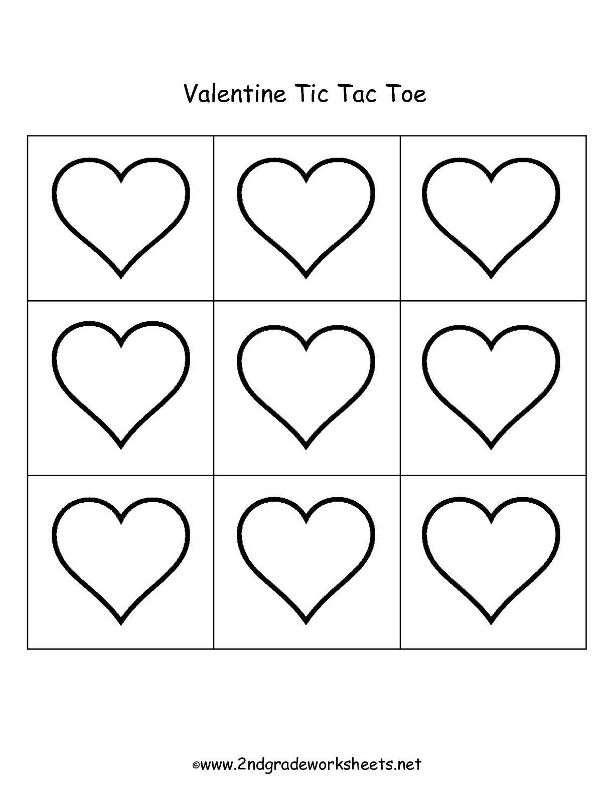 Alphabet Valentine S Day Worksheet