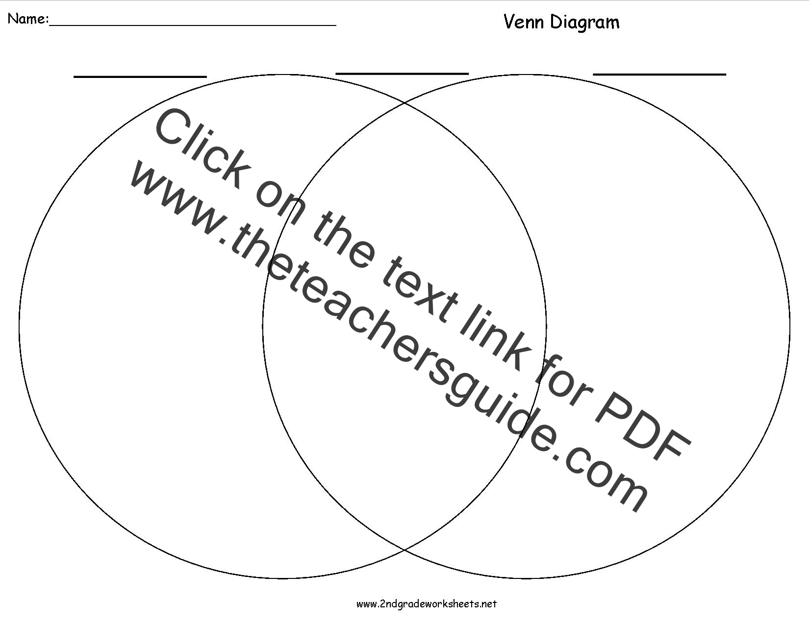 Pin Venn Diagrams