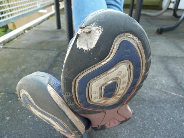 Weltreise Schuhe