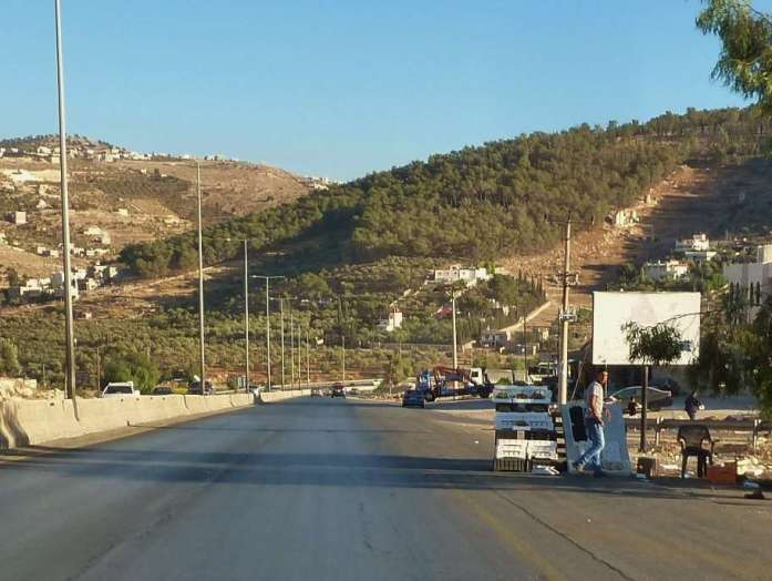 Rundreise Jordanien Verkäufer am Straßenrand