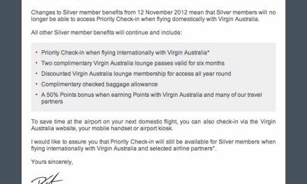 Virgin kicks Silver frequent flyers out of priority check-in