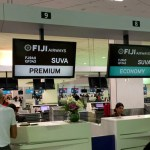 Qantas Business Class Lounge – Fiji Airways