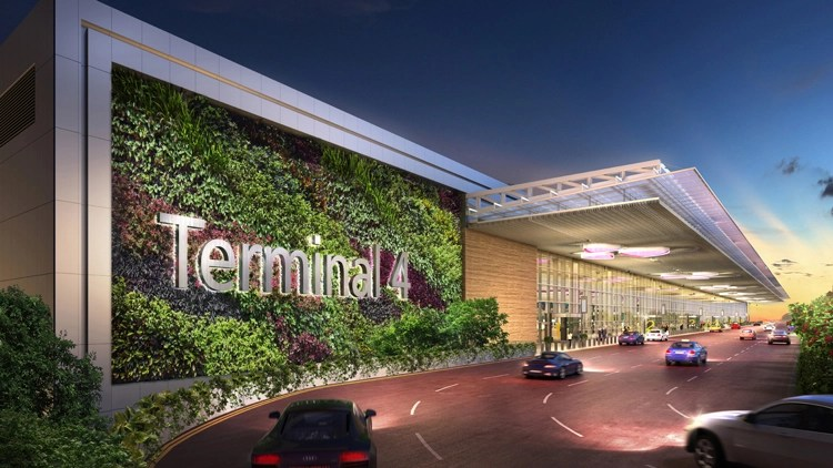 Changi Terminal 4 Open – Home in Singapore for 9 airlines.
