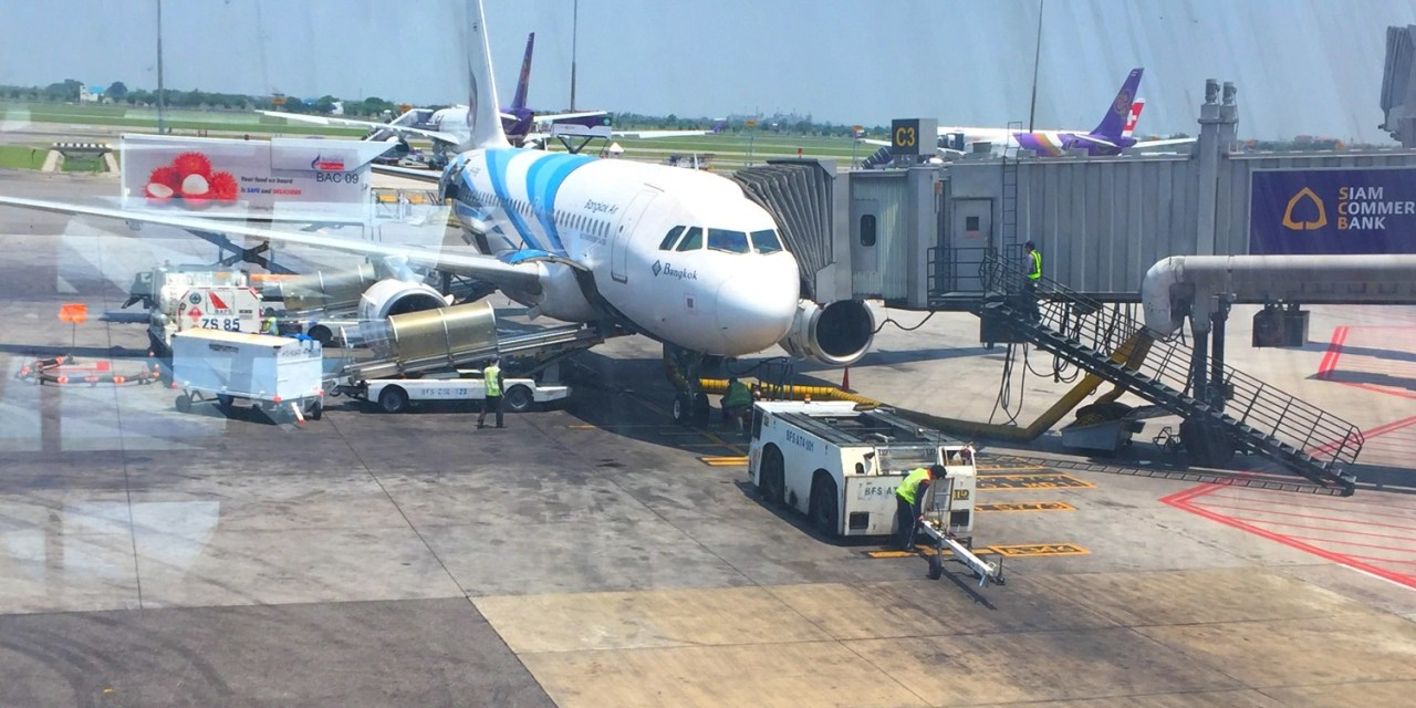Bangkok Airways 707 – Bangkok to Yangon – Economy