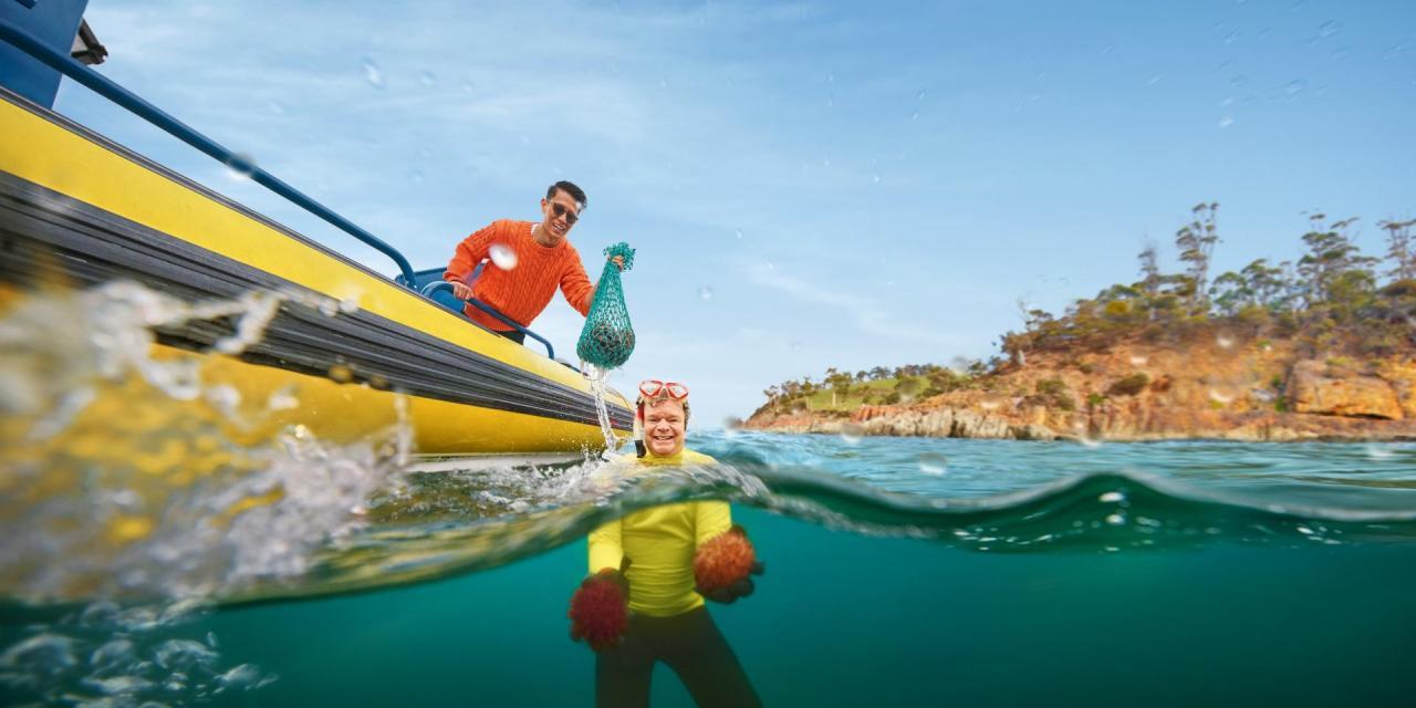 Tourism Australia: Tourist advert is black and white, but mainly white
