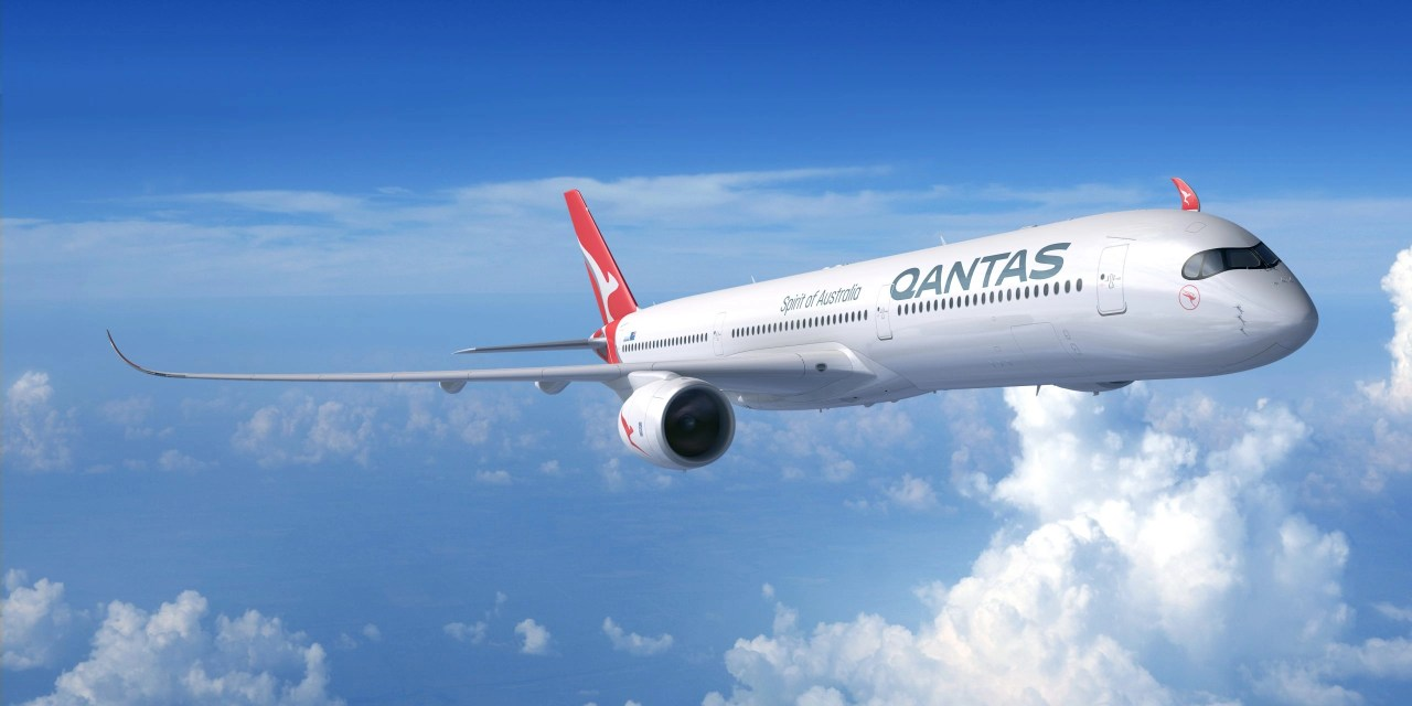 Qantas: Final Project Sunrise test flight