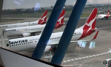QANTAS: What were you thinking? Social distancing now!