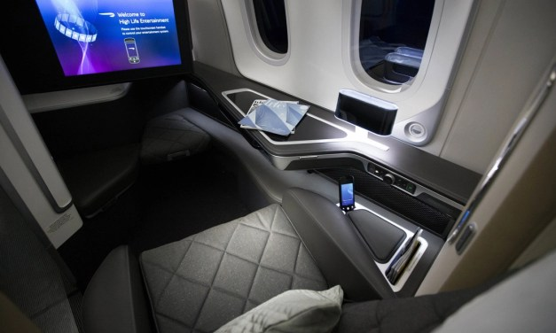 British Airways: Sliding doors for First Class in new 777-300ER planes