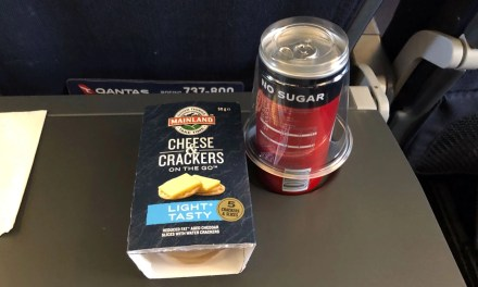 Qantas: Domestic catering on the improve