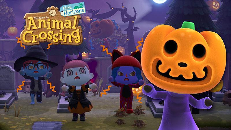 Motifs personnalisés d'Halloween à Animal Crossing: New Horizons