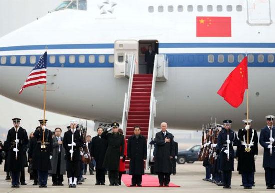 Hồ Cẩm Đào thăm chính thức Hoa Kỳ