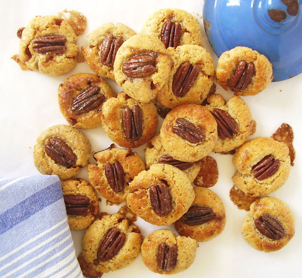 Caramel Pecan Cookies: Filled with love and sharing!