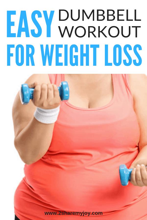 Full Body Dumbbell Workout For Women - 2SHAREMYJOY
