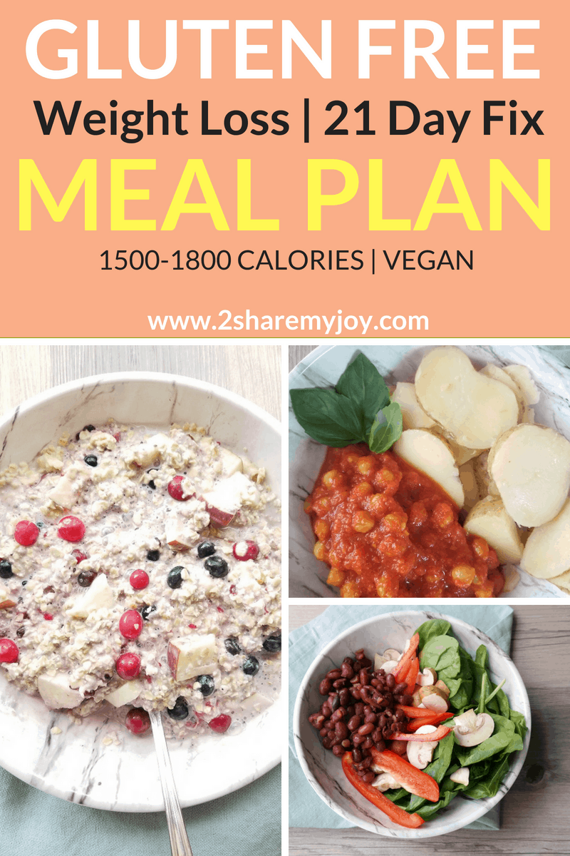 healthy gluten free meal plan for a healthy gut and weight loss. 21 day fix approves, aldi friendly, under 1800 calories 21 day fix approved with container count and vegan. #21dayfix #21dayfixmealplan #glutenfree #mealplan