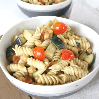 Vegan Caprese Pasta Salad Recipe