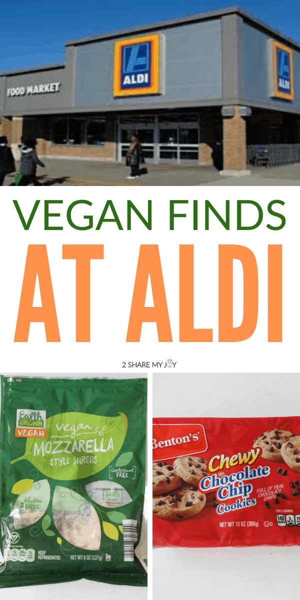 Vegan on a budget: Over 25 vegan finds at Aldi to save money on your vegan groceries. Perfect shopping list for anyone who wants to go plant based on a budget.