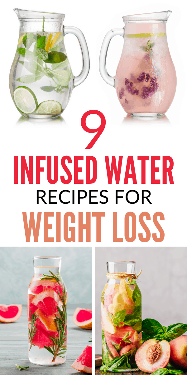 9 Infused water recipes for weight loss. Click through to get all infused water recipes and enjoy all the benefits.