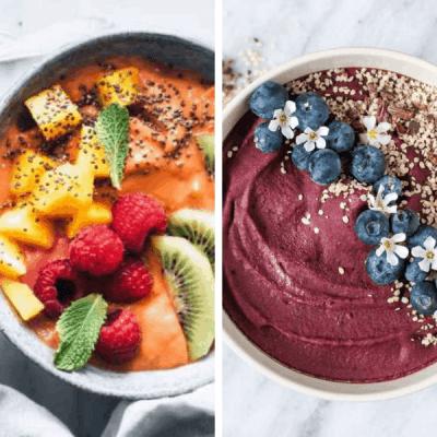 25+ Best Vegan Smoothie Bowls