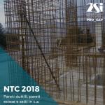 NTC2018: pareti duttili, pareti estese e setti in c.a.