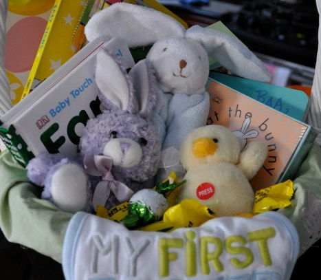 Baby S First Easter Basket 2 Sisters 2 Cities