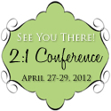 2:1 Conference Button