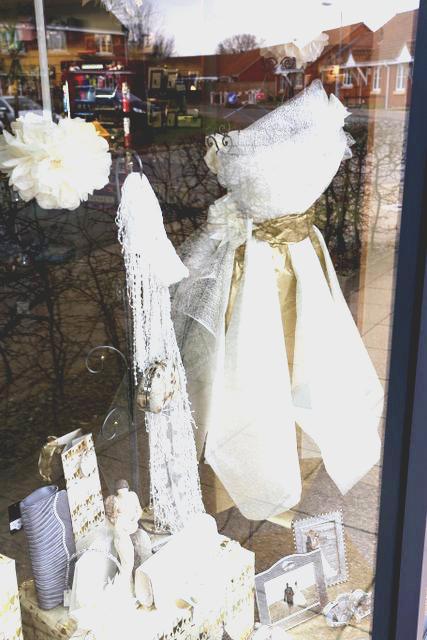 Watton Wedding Show shop windows 2up Photography